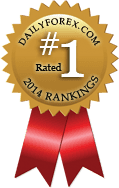 Ranked 1st in DailyForex.com Forex Trading signals providers 2014