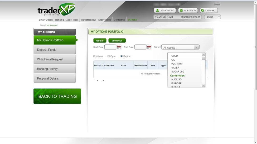 Trader xp.com