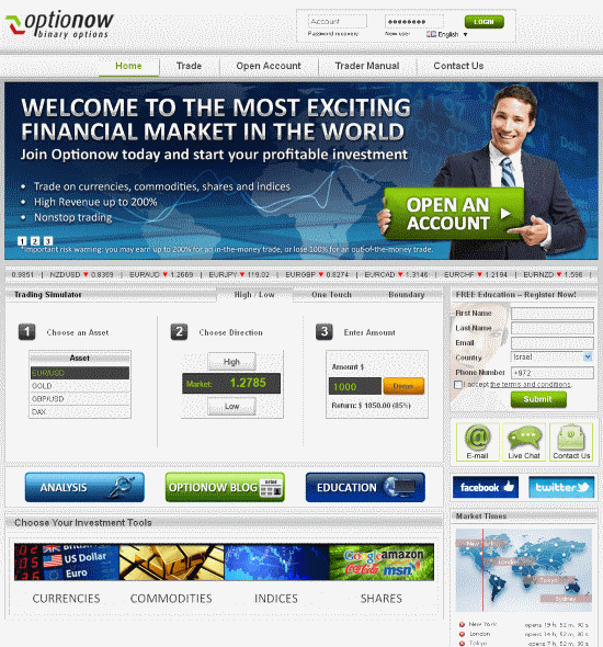 binary options daily trading signals reviews
