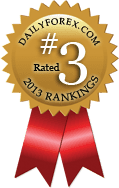 DailyForex.com 2013 Rankings - #3 Top Broker