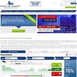 Banc de binary mobile trading