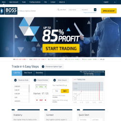 Boss Capital homepage