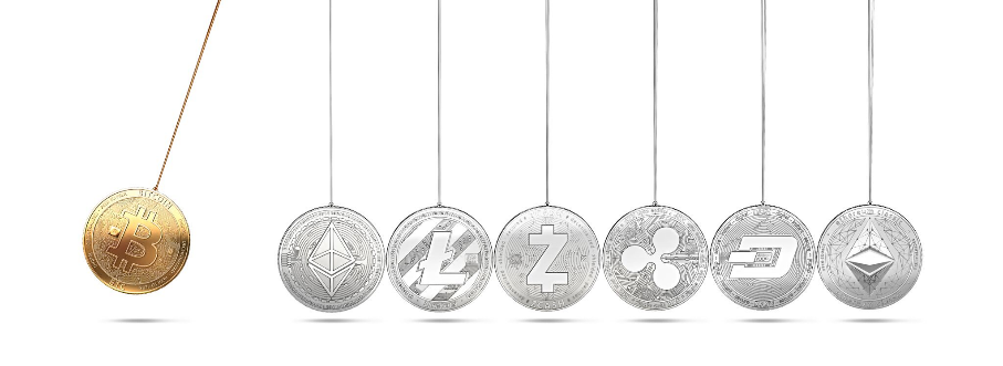 Newtons laws and cryptocurrency