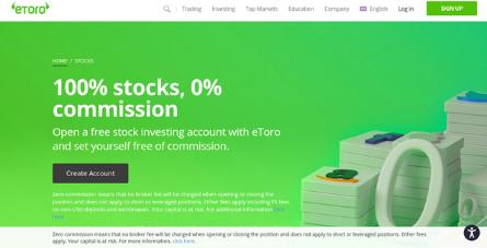 Etoro markets Bonus