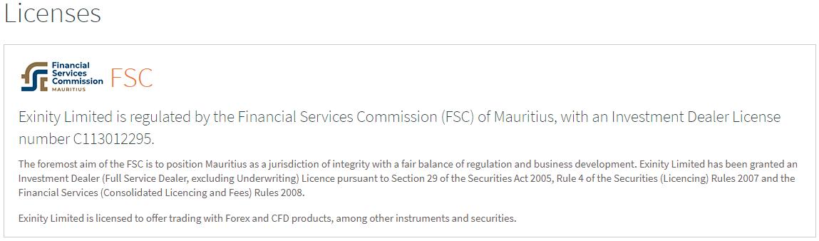 Mauritius Licence
