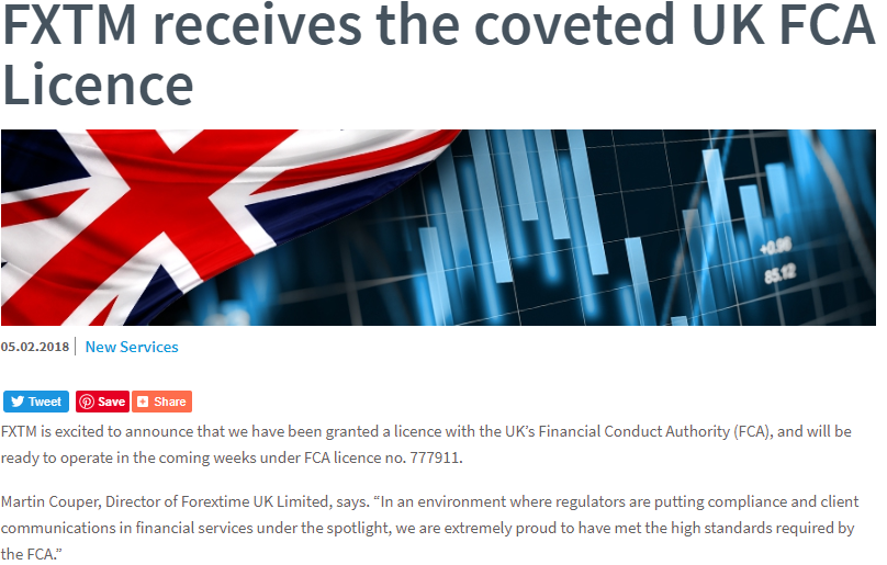 UK FCA Licence Article