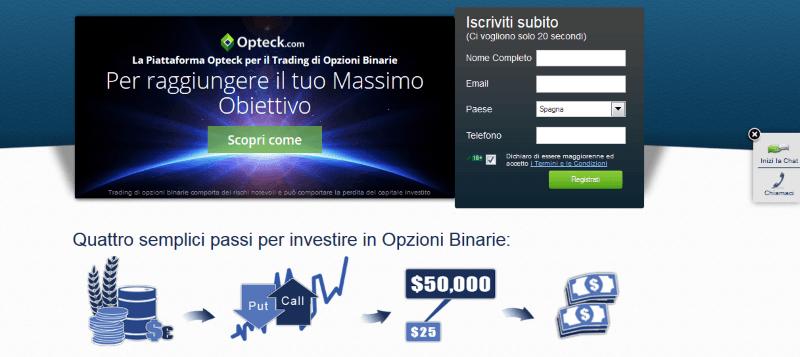 Opteck Homepage