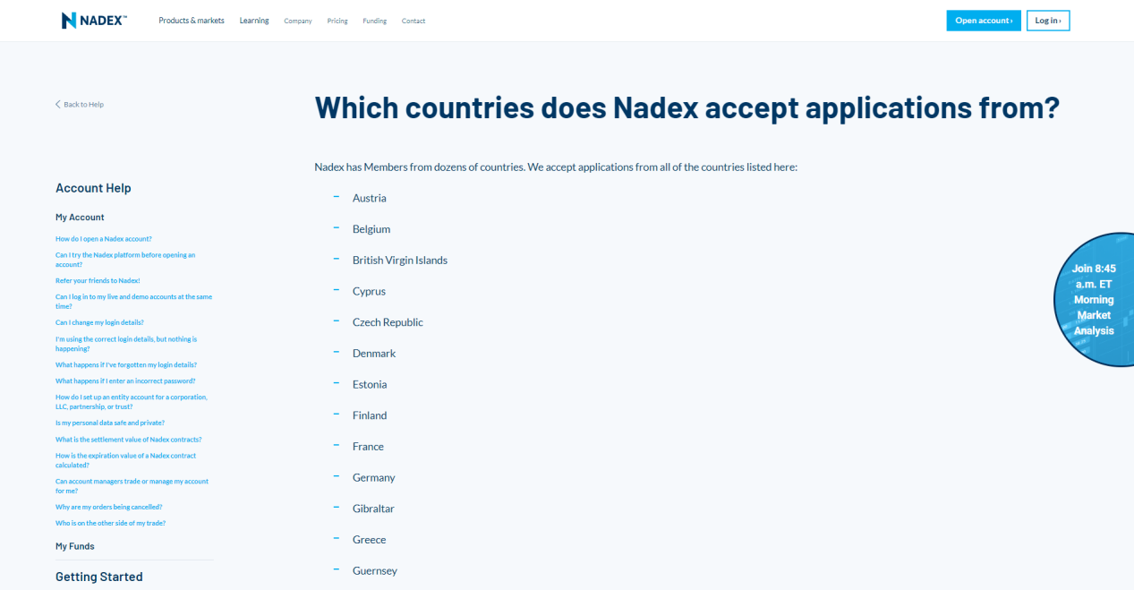 nadexreview-countries