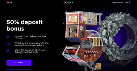 OctaFX Bonus