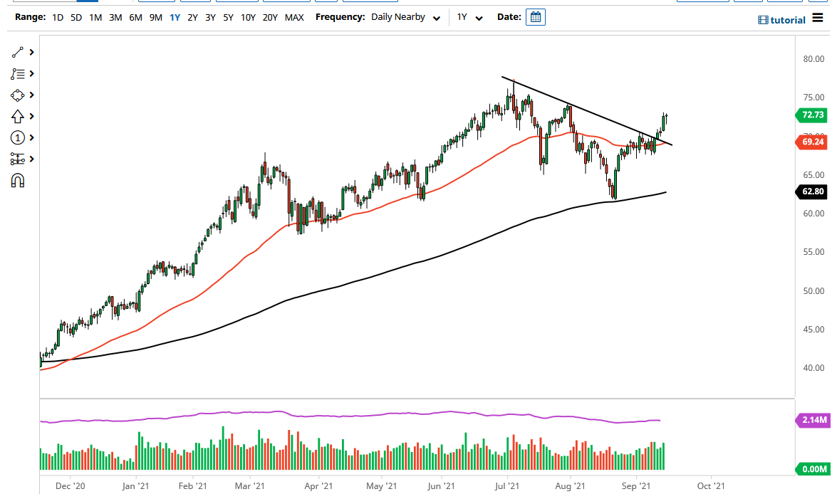 Crude Oil Showing Buyers on Dips