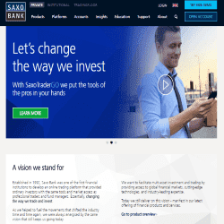Saxo forex commission