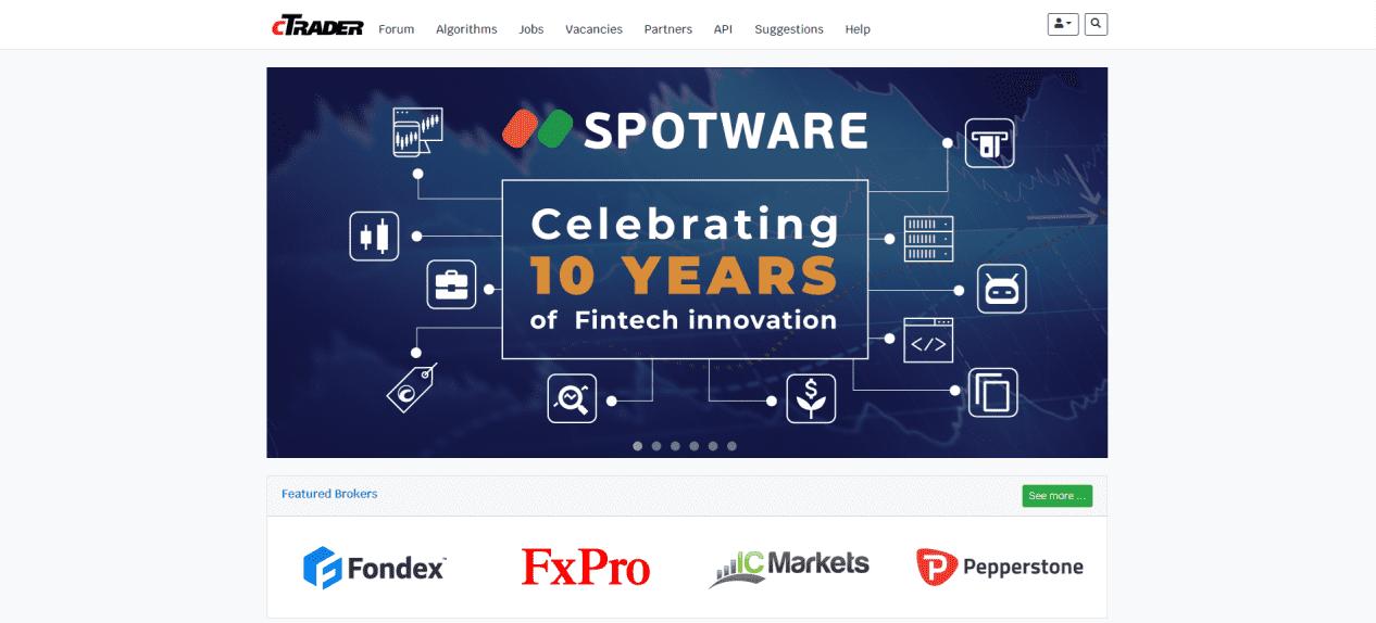 Ctrader trading platform