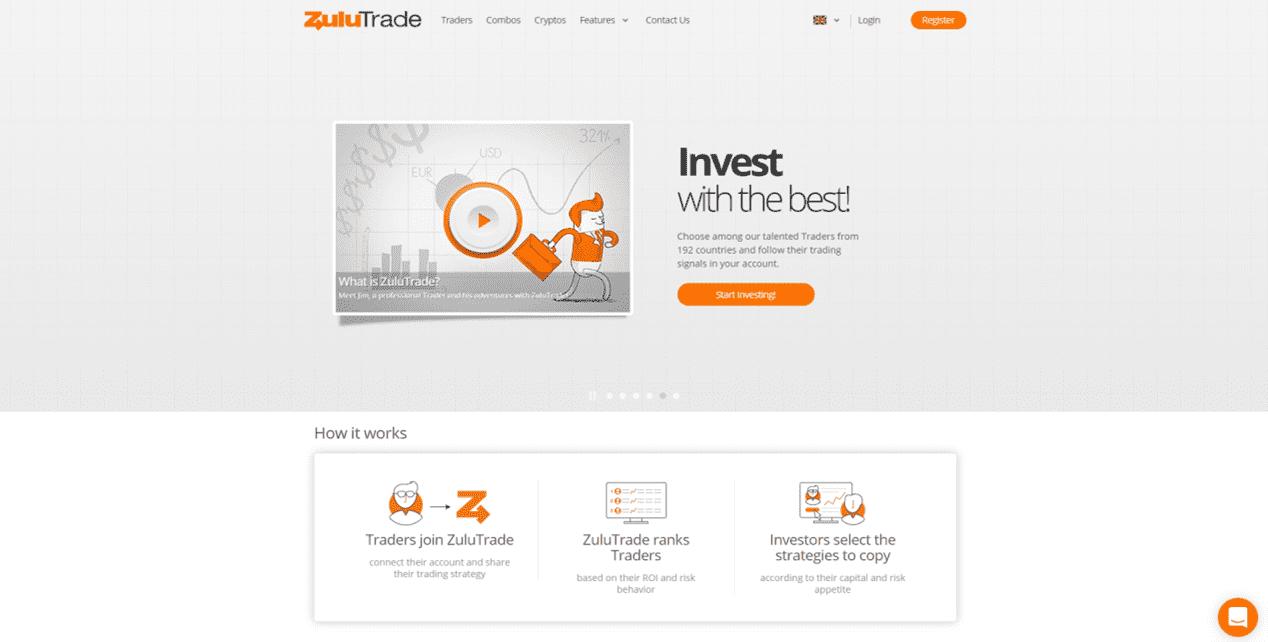 Zulutrade trading platform